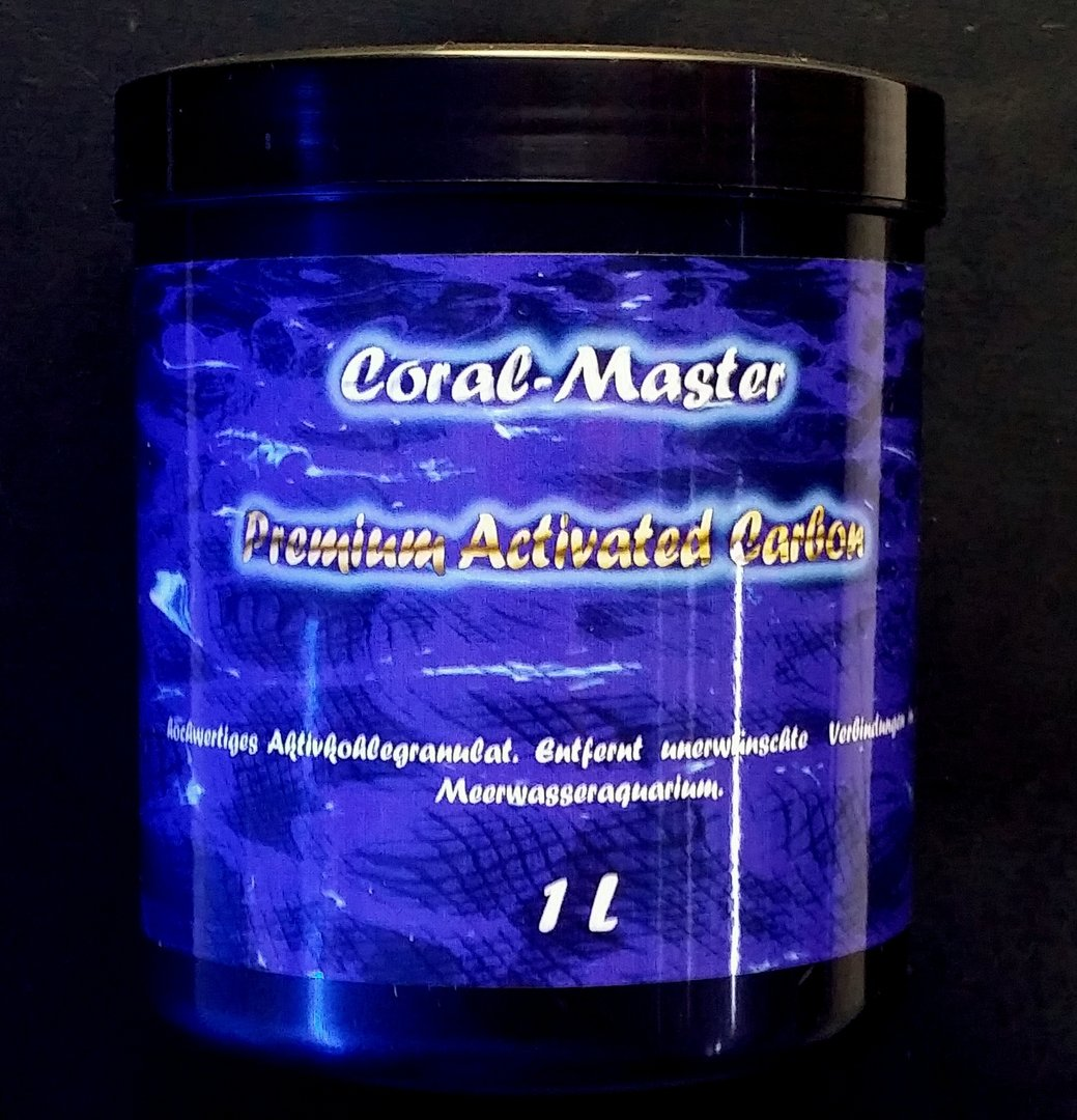 Premium Activated Carbon 1 Liter